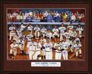 """Jewish Baseball Players"" by Ron Lewis"
