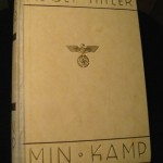 The Norwegian edition of Adolf Hitler's Mein Kampf. PHOTO / Wikimedia Commons.