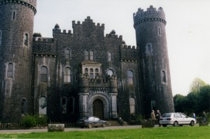 Clonyn Castle in Delvin, Ireland. PHOTO / Courtesy Murray Lynn