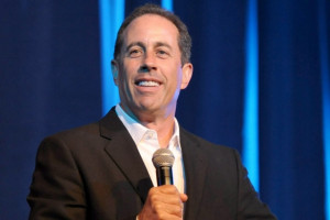 Jerry Seinfeld laughing all the way to the bank.