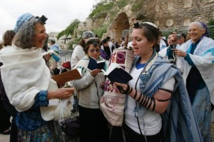 A Women of the Wall prayer service earlier this year. PHOTO / Women of the Wall