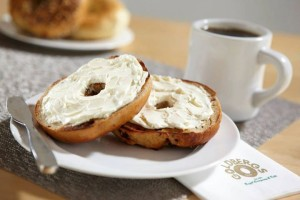 Goldberg's has been serving up warn and toasty bagels in Atlanta for years. And, yep, they're still warm, toasty -- and good. PHOTO / Goldberg's Deli