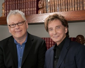 """Bruce Sussman (left), Barry Manilow finally getting the chance to see their musical """"Harmony"""" come to life at The Alliance. PHOTO / Courtesy The Alliance Theatre"""
