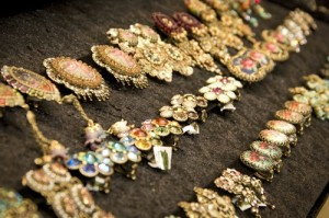 Michal Negrin costume jewelry at the Israeli company's new store in Paramus, NJ. PHOTO / Michal Negrin.
