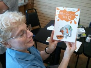 And Thou Shalt Read's RuthE Levy shares one of the many books that can be found in her Jewish book store in Roswell.