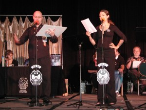 Cast of The Atlanta Radio Theatre Company will be performing at the MJCCA in late October; still plenty of time to purchase tickets. PHOTO / MJCCA