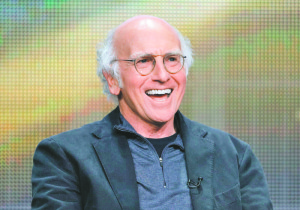 Larry David will be telling a joke and taking part in upcoming fundraiser.