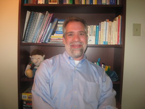 Dan Arnold is a licensed clinical social worker with JF&CS. PHOTO / JF&CS