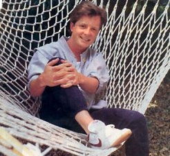 Actor Michael J Fox returning to the small screen.