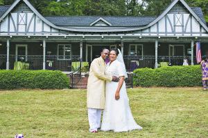 Aminah Archer and John Perkins Jr.