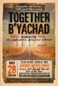 ARTS-CBH Community Concert Flier