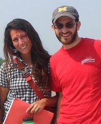 Sarah and Josh Weinstein for Atlanta Jewish Times