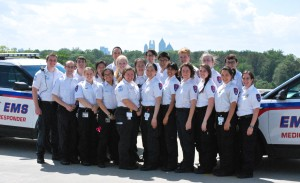 This year's Emory EMS unit is the region's Emergency Medical Service of the Year.