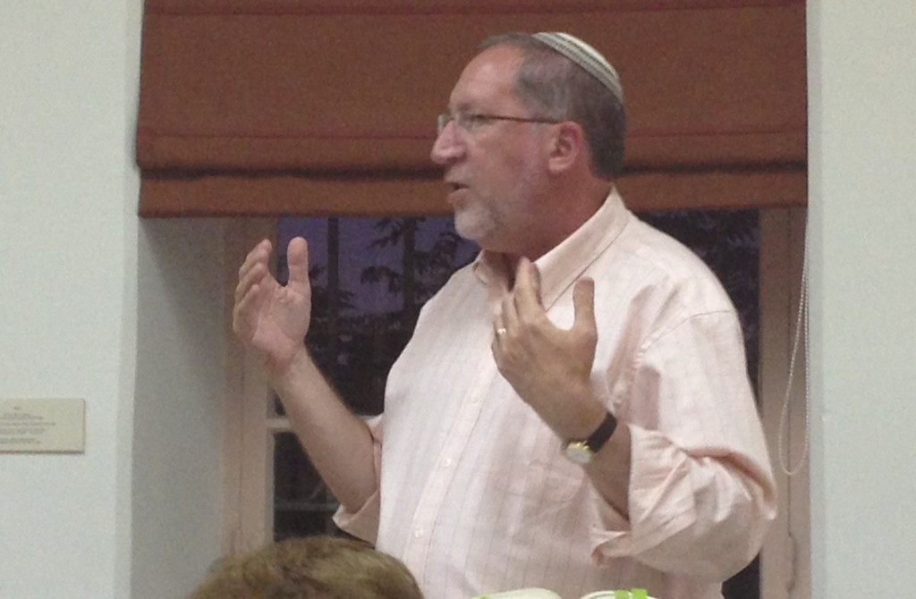 NEWS-Kerbel teaching Jerusalem