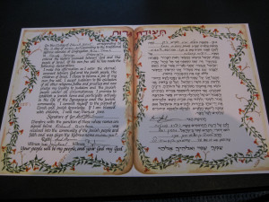NEWS-Quintana Certificate of Acceptance into the Jewish Faith