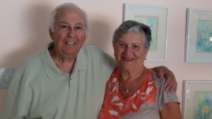 After 60 years together, Hymie and Sukey Shemaria are enjoying family, travel and each other.