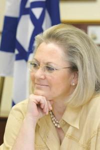 Ambassador Judith Várnai Shorer, Israel's consul general to the Southeast