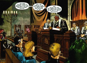 """Ben Grimm aka: """"The Thing"""" becomes a Bar Mitzvah"""