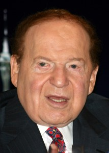 Las Vegas Sands Chairman Sheldon Adelson. (Photo: Wikipedia)