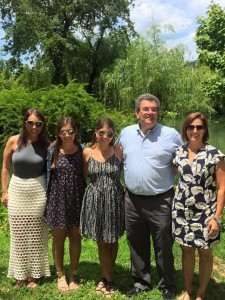 Now that daughters Sarah, Melissa and Allison are adults, George and Laura Fuhrman are again living in metro New Orleans.
