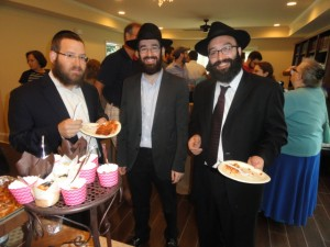 Shofar Blast Restarts Chabad Era at Tech 1