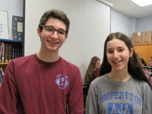 Greg Shapiro and Abby Stein