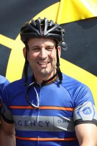 Jason Mendelsohn raised $24,022 through last month's bike ride.