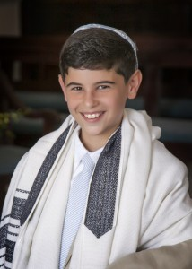Bar mitzvah Sam Brenner. (Photo courtesy Kelly Greer, photographer)