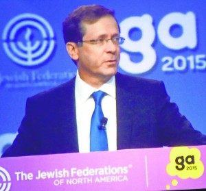 Labor Party leader Isaac Herzog says Israel needs U.S. Jewish involvement to decide how to lead the Jewish people through the next 50 years. Photo by Michael Jacobs