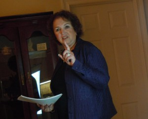 Straus Historical Society Executive Director Joan Adler