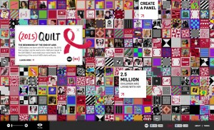 Click Here to learn more about the AIDS Memorial Quilt.