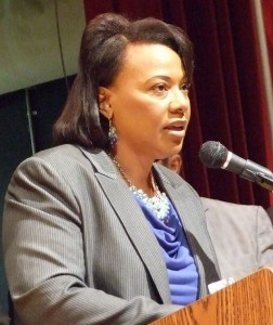 The Rev. Bernice King cites her father in speaking out against Incendiary anti-Muslim speech.