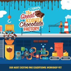 JCrafts is adding two offerings to its programming, the Great Kosher Chocolate Factory and the Havdalah Workshop.