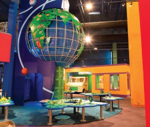 The Gateway to the World is a winning, spinning addition to the Children's Museum.