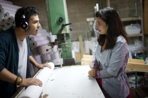 "Roy Assaf and Moran Rosenblatt star in ""Wedding Doll."""