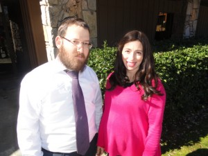 Rabbi Menachem Gurary and Liba Gurary direct Beit Reuven Chabad.