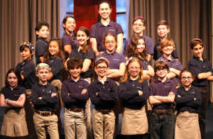 The Epstein School has 19 winners advancing to the state technology competition March 5: back row (from left), Jonah Katz, Maya Kahn, Galya Fischer, Matthew Neuberger and Jacob Greenwald; middle row (from left), Dylan Wendt, Lila Ross, Jessica Covin, Barri Seitz, Lindsay Greenwald, Shai Bachar and Gavin Brown; and front row (from left), Foster Berlin, Andrew Frank, Jordan Leff, Elliott Furie, Naomi Furie, Leo Silver and Sophie Carmel.