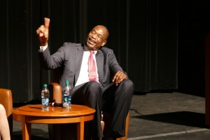 Mutombo: Athletes Must Be Socially Responsible 1