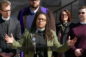 Reverend Kimberly S. Jackson of the Absalom Jones Episcopal Center in Atlanta says that the hybrid bill is a 'discrimination act cloaked in the veil of freedom.'