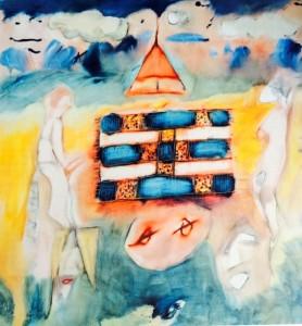 "Paul McCartney painted ""Chief Rug"" in 1994."