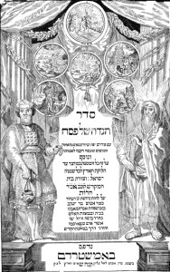 The Amsterdam Haggadah of 1695 was published by Abraham ben Jacob, a convert to Judaism, and is the most imitated and copied haggadah in history. It preserves around the haggadah text the commentary of Isaac Abravanel, a Jewish philosopher expelled from Spain in 1492.