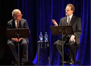 Maestro Arthur Fagen of the Atlanta Opera and Laurence Sherr, Holocaust music scholar at Kennesaw State, both second-generation Holocaust survivors, narrate January's Molly Blank Jewish Concert Series event, providing insights into the historical background on the pieces performed.