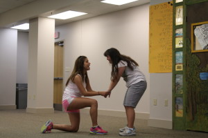 Staffers are trained to address each camper's particular needs.