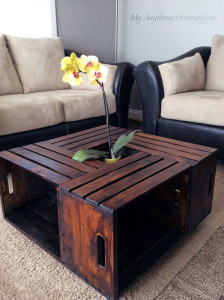 This DIY coffee table made out of wood pallets is one of the many unique projects posted at Hometalk