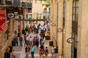 Mamila mall in Jerusalem