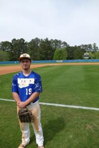 Weber's sophomore team captain Eli Katz