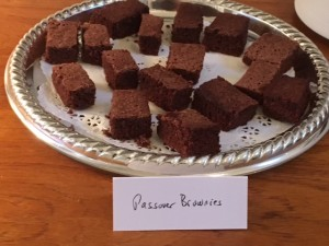 Helen Ehrlich's brownies come from Rochester, N.Y., through her sister, Adele.