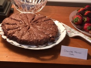 With the help of family, Fran Redisch makes a successful translation of this chocolate mousse cake from an Israeli recipe.