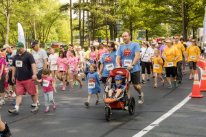 Photo courtesy of CURE Childhood Cancer Lauren's Run, which includes a 10K Peachtree Road Race qualifier as well as a more family-friendly 2K, has raised more than $3.4 million to research childhood cancer.
