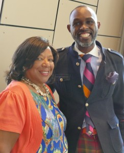 National Center for Civil and Human Rights Executive Vice President Deborah Richardson and CEO Derreck Kayongo host the Power to Inspire Summit.